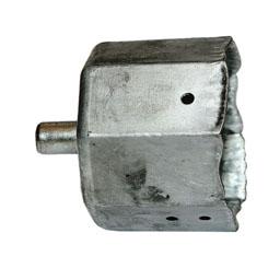 Contera metálica para ejes de 40mm
