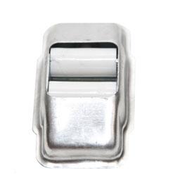 Guiacintas de aluminio Plata