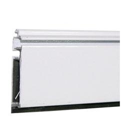 Lama de terminación aluminio Blanca