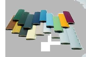 Lamas persianas de colores en Zaragoza
