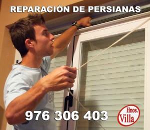 Reparacion de persianas en Zaragoza