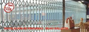 Instalación Persianas Rejas Ballesta