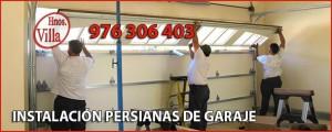 Instalacion Persianas Puertas Garaje Zaragoza