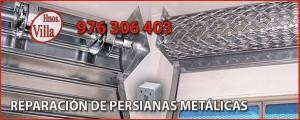 Reparación Persianas Metálicas Comerciales en Zaragoza