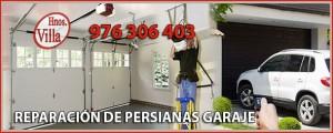 Reparación Persianas Puertas de Garaje Zaragoza